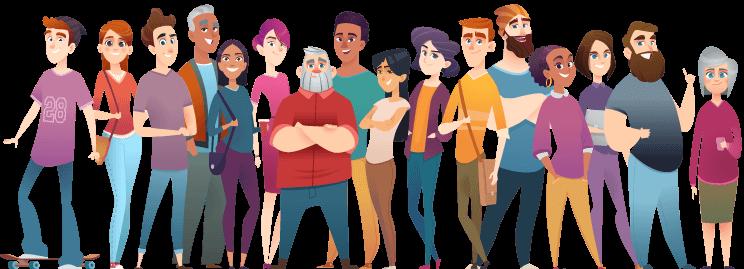 Les 16 personnages dont vous devrez déterminer s'ils disent vrai.